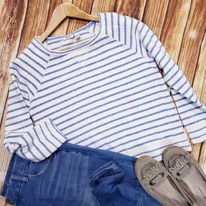 Izod French Terry Preppy Sweatshirt 90S Vintage